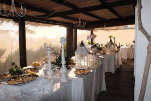 Ristorante La Fiumara beach - buffet